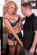 Cali comes to 50PlusMILFs.com and acquires her a-hole fucked