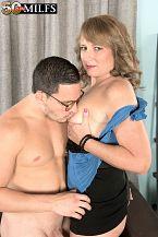 Catrina copulates her best friend's son