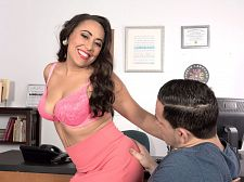 Gabriella Sky's remarkable fellatio skills