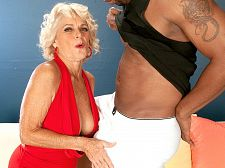Big darksome meat-thermometer makes Georgette cum hard