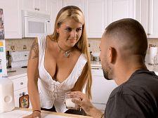 Joclyn bonks her son's most priceless friend
