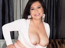 Big-titted, big assed Latin chick Victoria, just for you