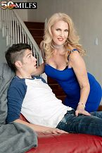 Lacy's future son-in-law copulates her tight ass